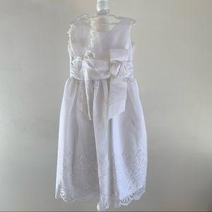 Jane Copeland first communion dress